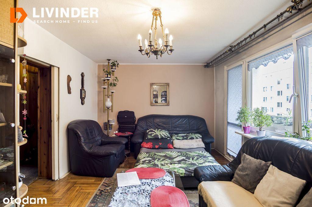 2 pokoje, balkon, piwnica, do remontu, Cenista