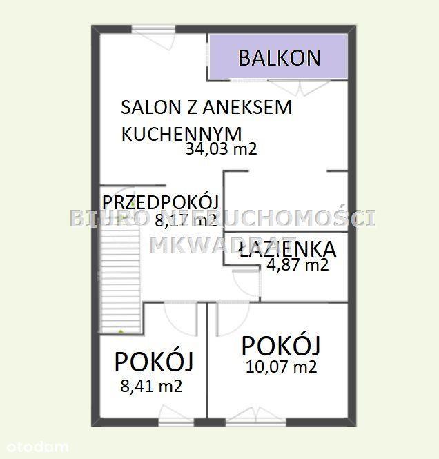 3 pokoje z balkonem, Niedobczyce