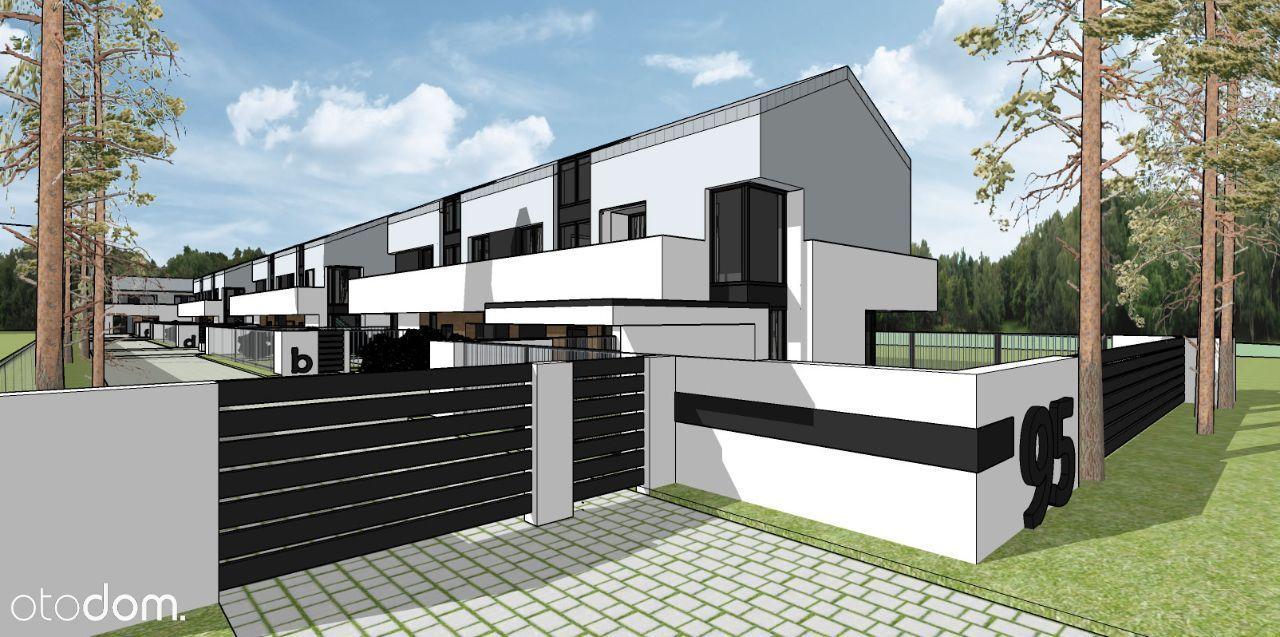 Nowoczesny dom -kameralne osiedle