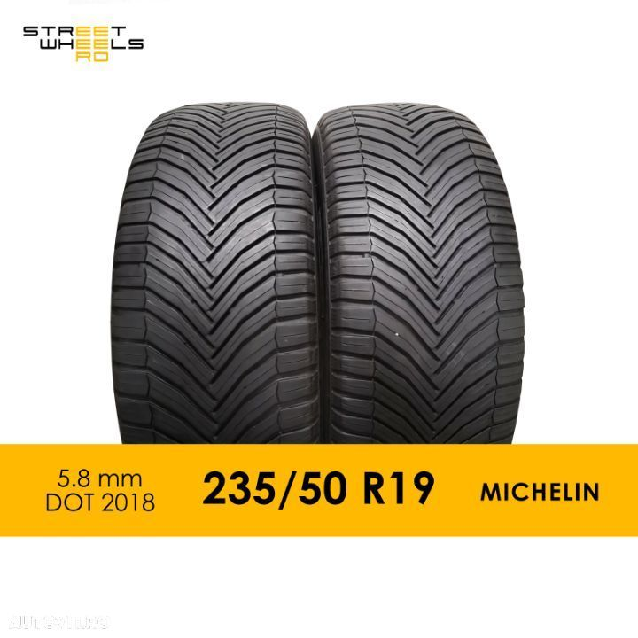 235/50 R19 MICHELIN CrossClimate SUV - 2 Anvelope SH All season MS 235 50 19 M+S - 1