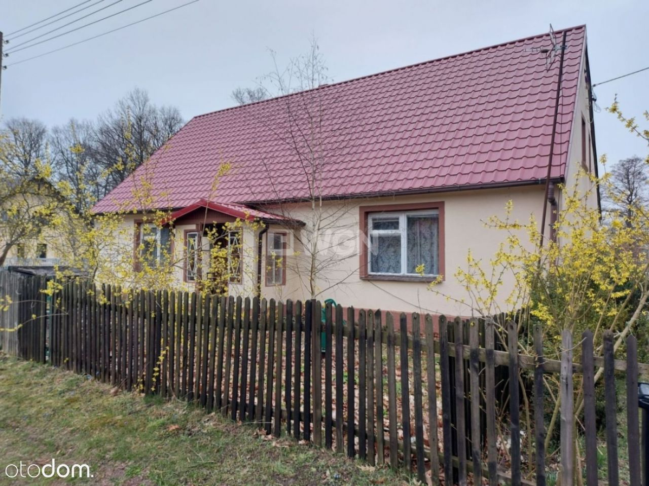 Dom, 100 m², Małomice