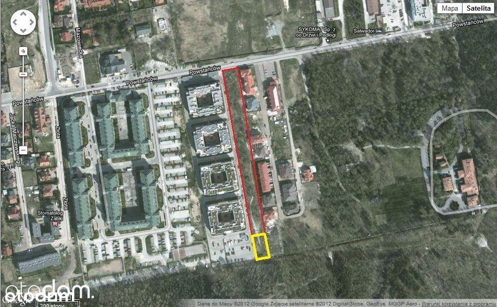 610 m2, działka na sprzedaż, Ząbki, ul. Powstańców