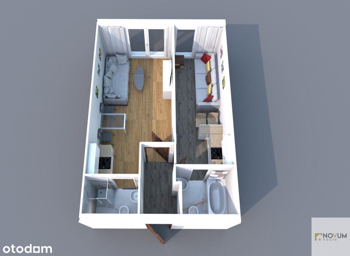 2 pokoje lub 2 mieszkania!Inwestycja!Centrum!