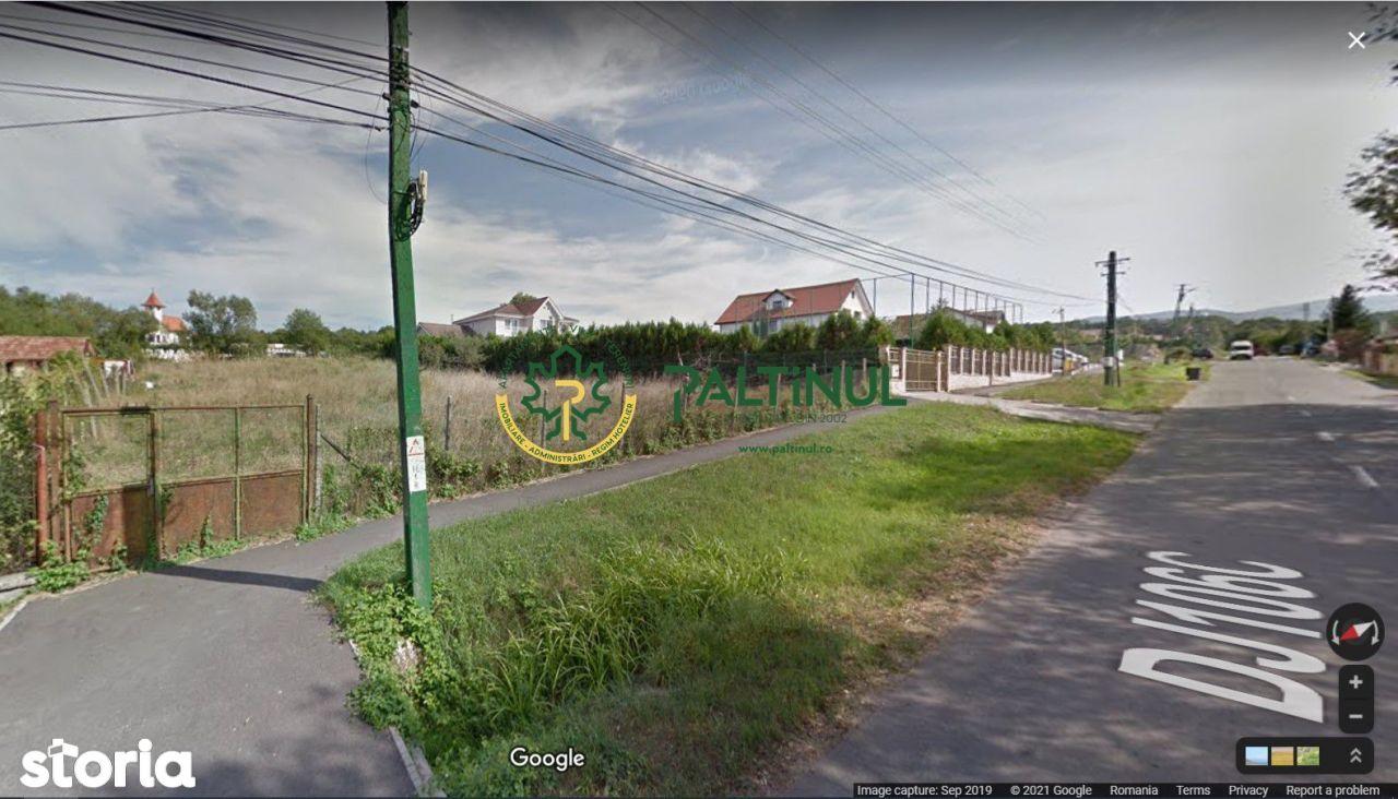 Teren deosebit in Cisnadie, strada asfaltata, 1600 mp