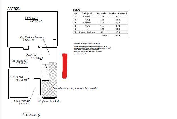 Mieszkanie 100m2 Lucerny 3 pok., przy SKM Anin LUX