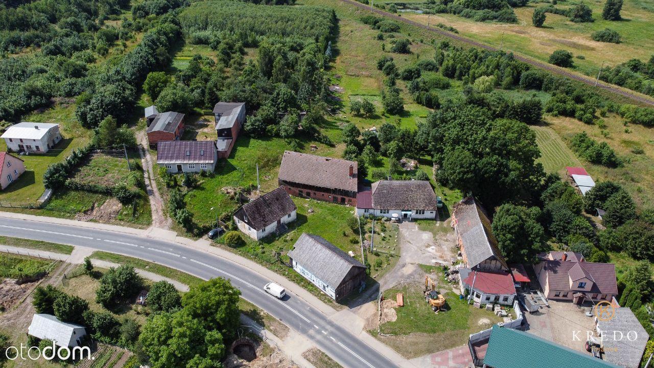 Działka nieruchomość stodoła