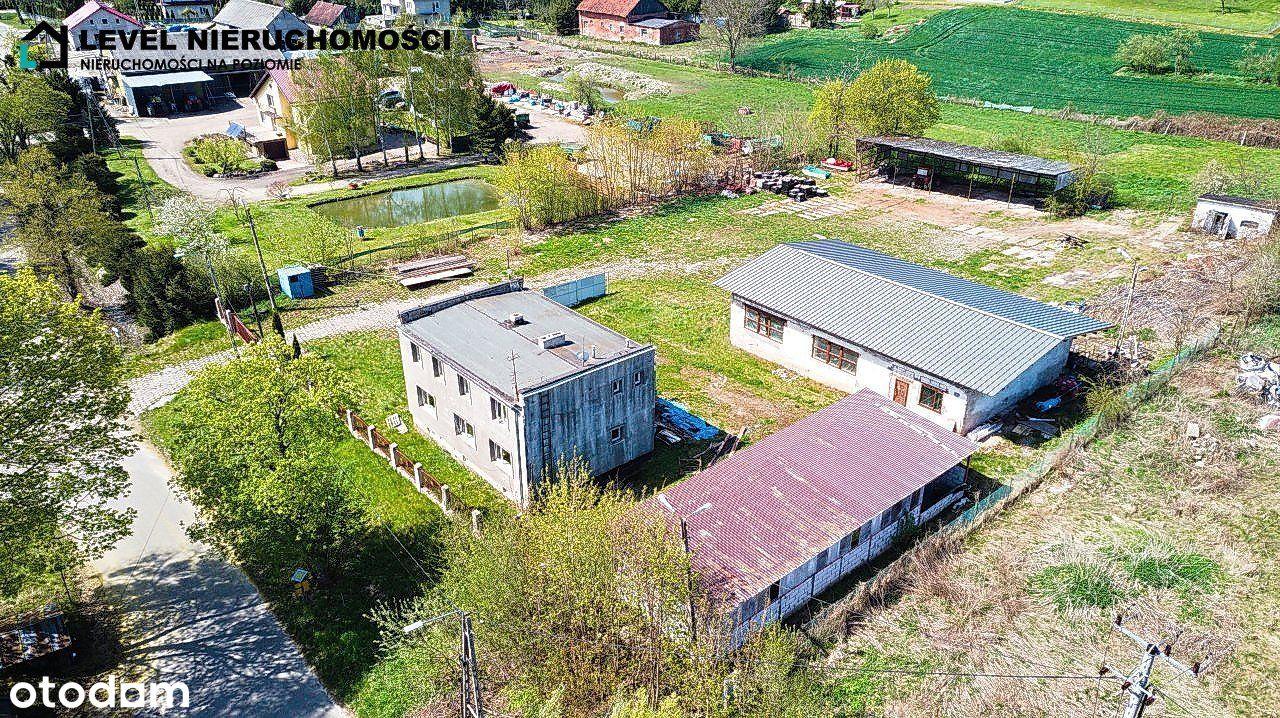 Dom z halą przemysłową !!!