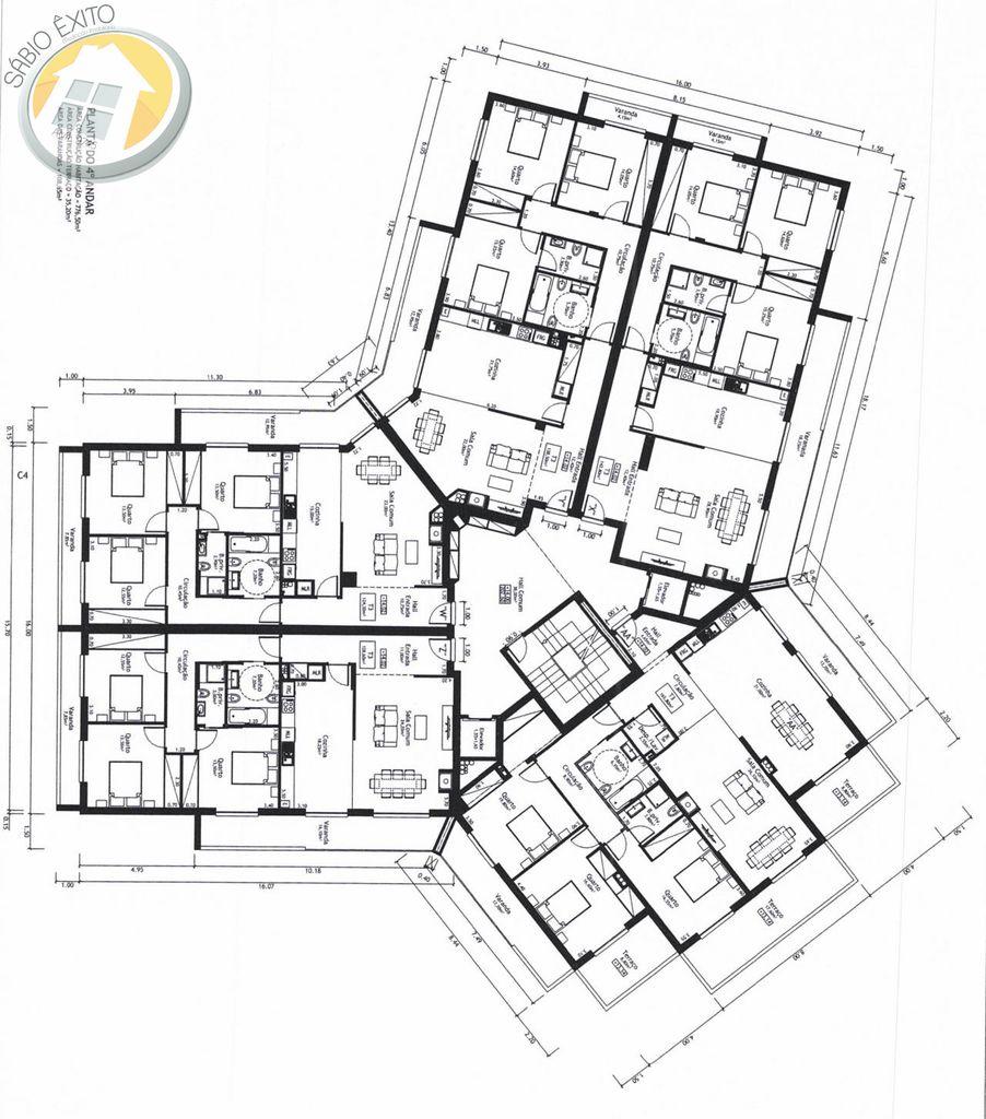 Apartamento T3 novo em Oliveira de Azeméis