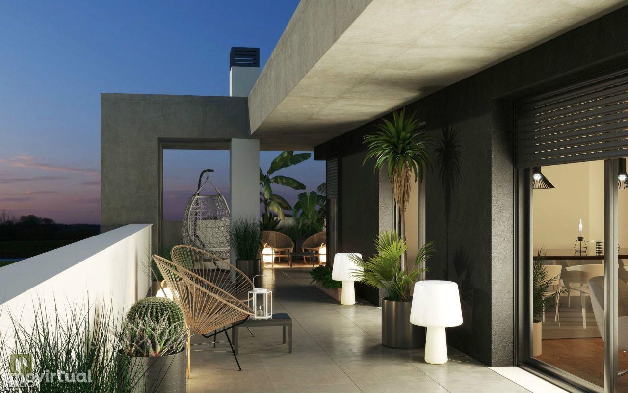 Apartamento T2 NOVO com varanda e ginásio, em Paranhos