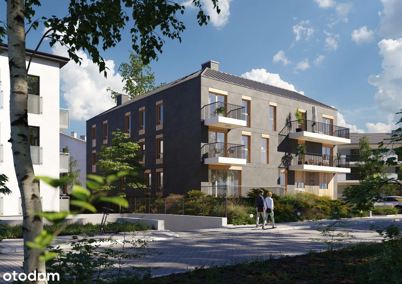 Mieszkanie 3 pokoje 61,09 m2 ul.Czapli 3 II piętro