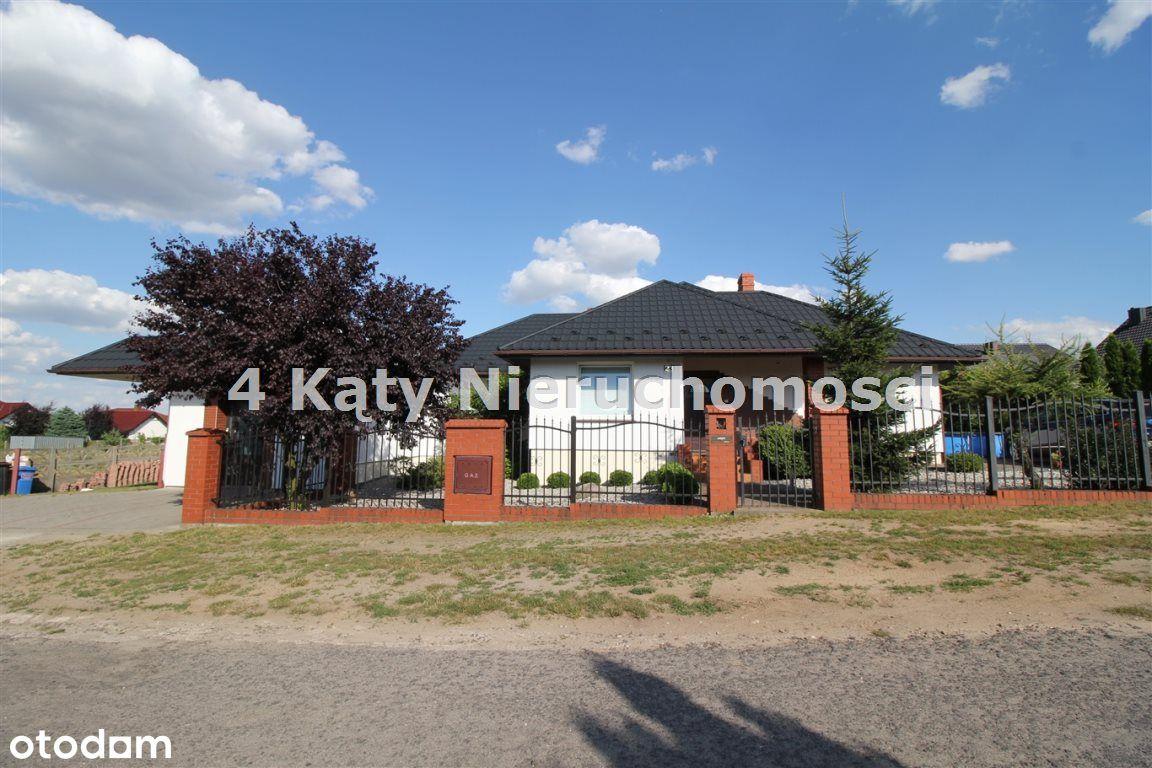Pruślin dom 148 m2 + budynek na działalność 120 m2