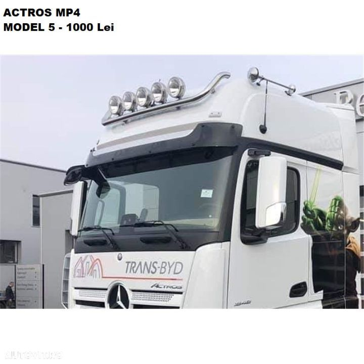 Bullbar Mercedes Actros Mp4 - 5