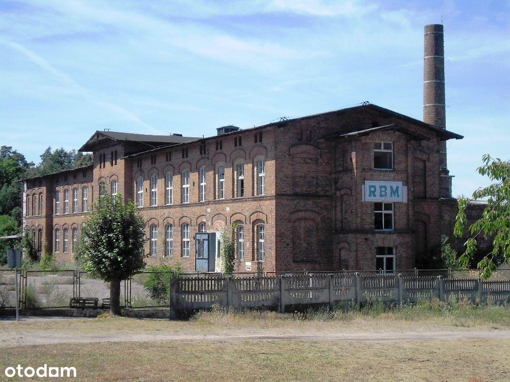 Nieruchomość zabudowana budynkami produkcyjnymi