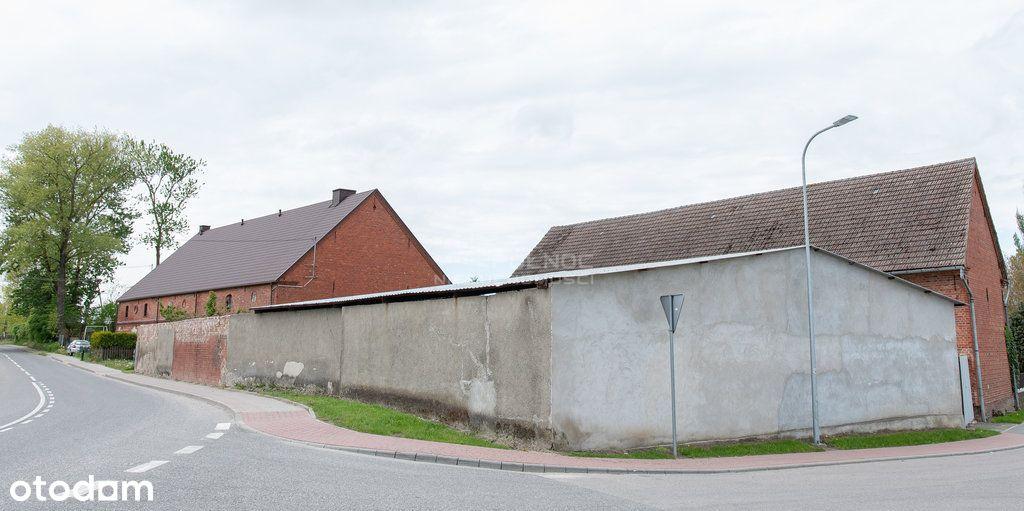 Działka zabudowana w centrum Bruskowa