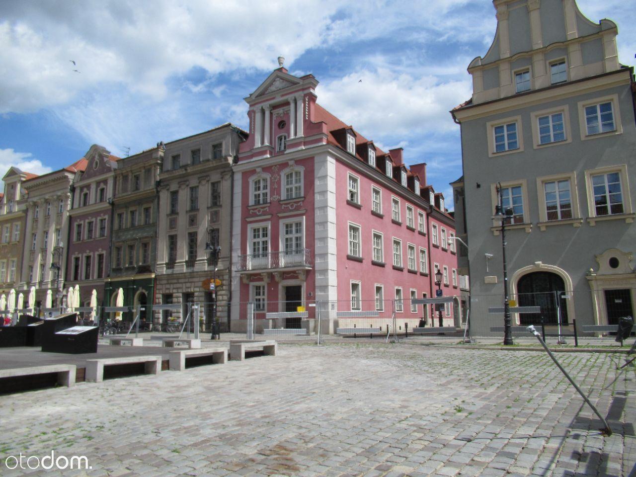 Wyremontowana Kamienica Rynek Poznań parter+1 p.