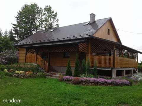 Dom drewniany po generalnym remoncie, działka 60 a