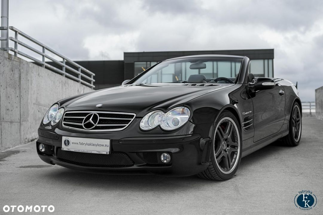 Mercedes-Benz SL Panorama dach + Performance pack. - 1
