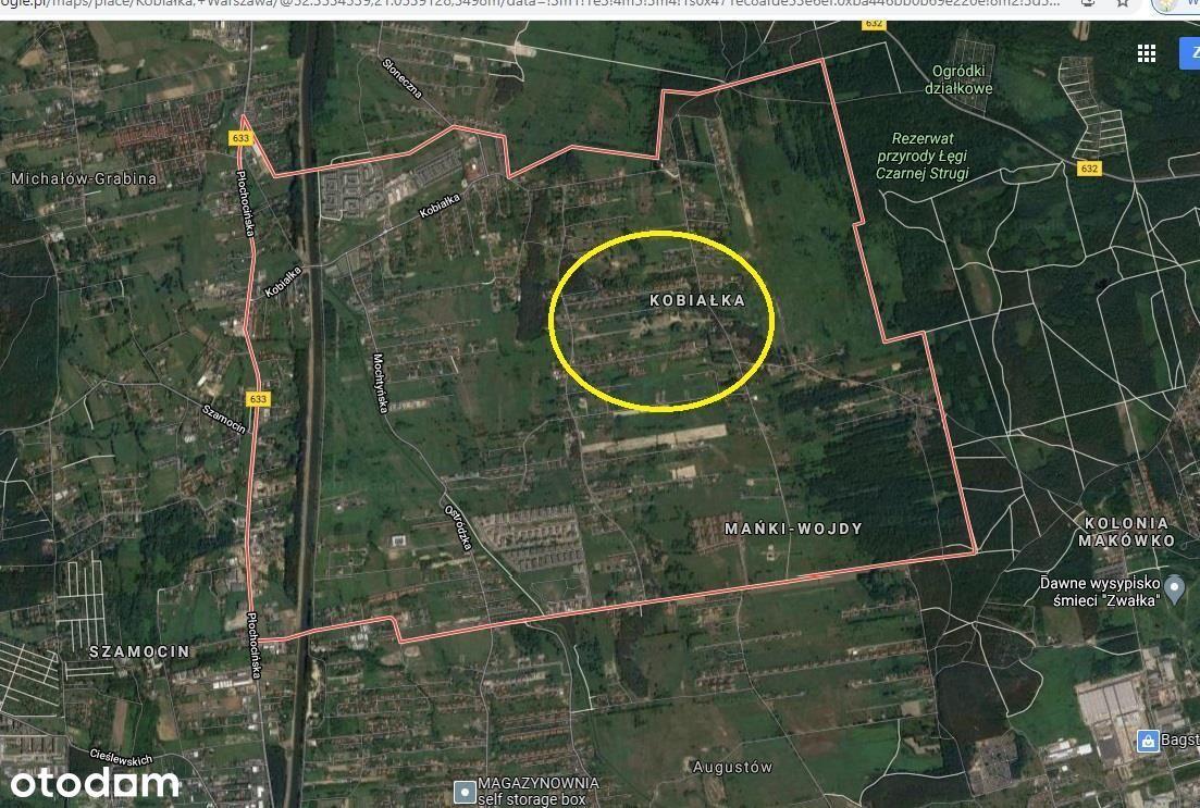 Działka, 1 595 m², Warszawa
