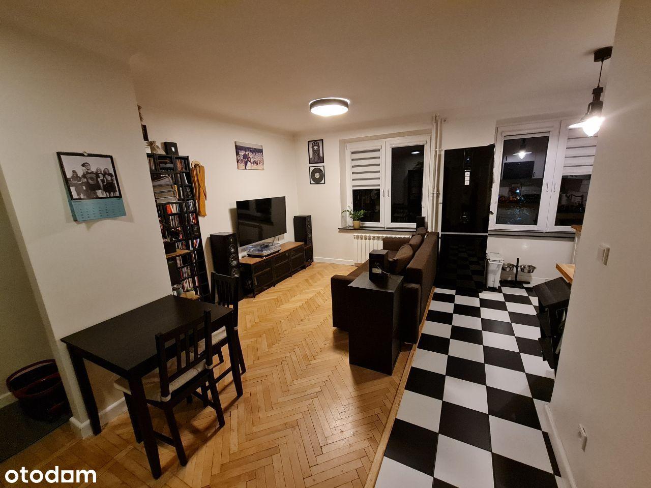 Nowolipki. Ciche mieszkanie po remoncie - 43,24 m2