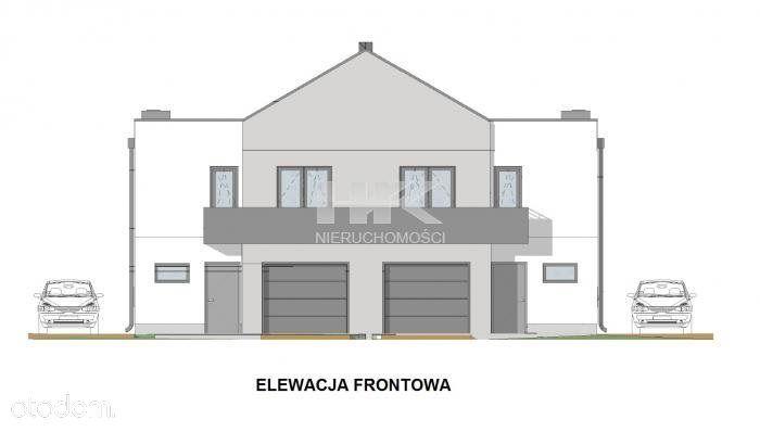 Nowe Domy W Zabudowie Bliźniaczej Z Garażami