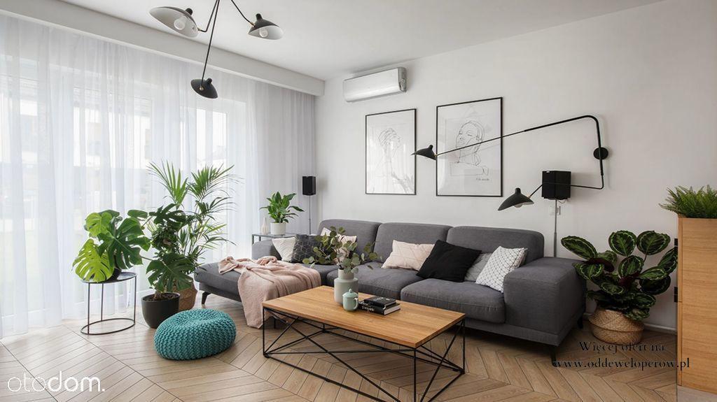 3 pokoje z balkonem| Możliwy rozkład| Smart home
