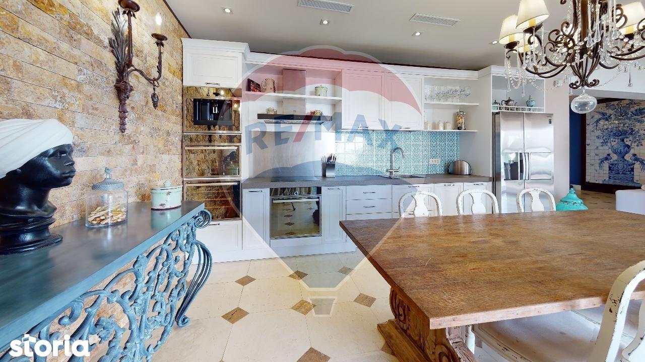VAND Apartament LUX MAMAIA,4 camere cu vedere Lac Siutghiol, mobilat