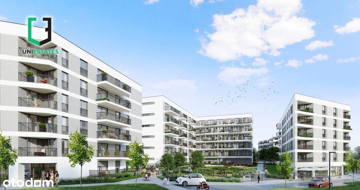 ul. Banacha | 2 pokoje + balkon |40,5m2| Bez Pcc!