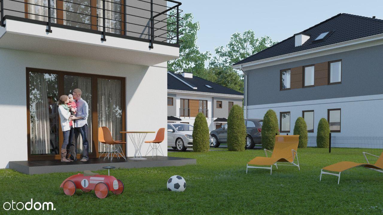 75 m2 + ogródek 198m2 / 270m2 / 350 m2
