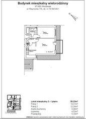Mieszkanie na sprzedaż o pow. 50,33m2