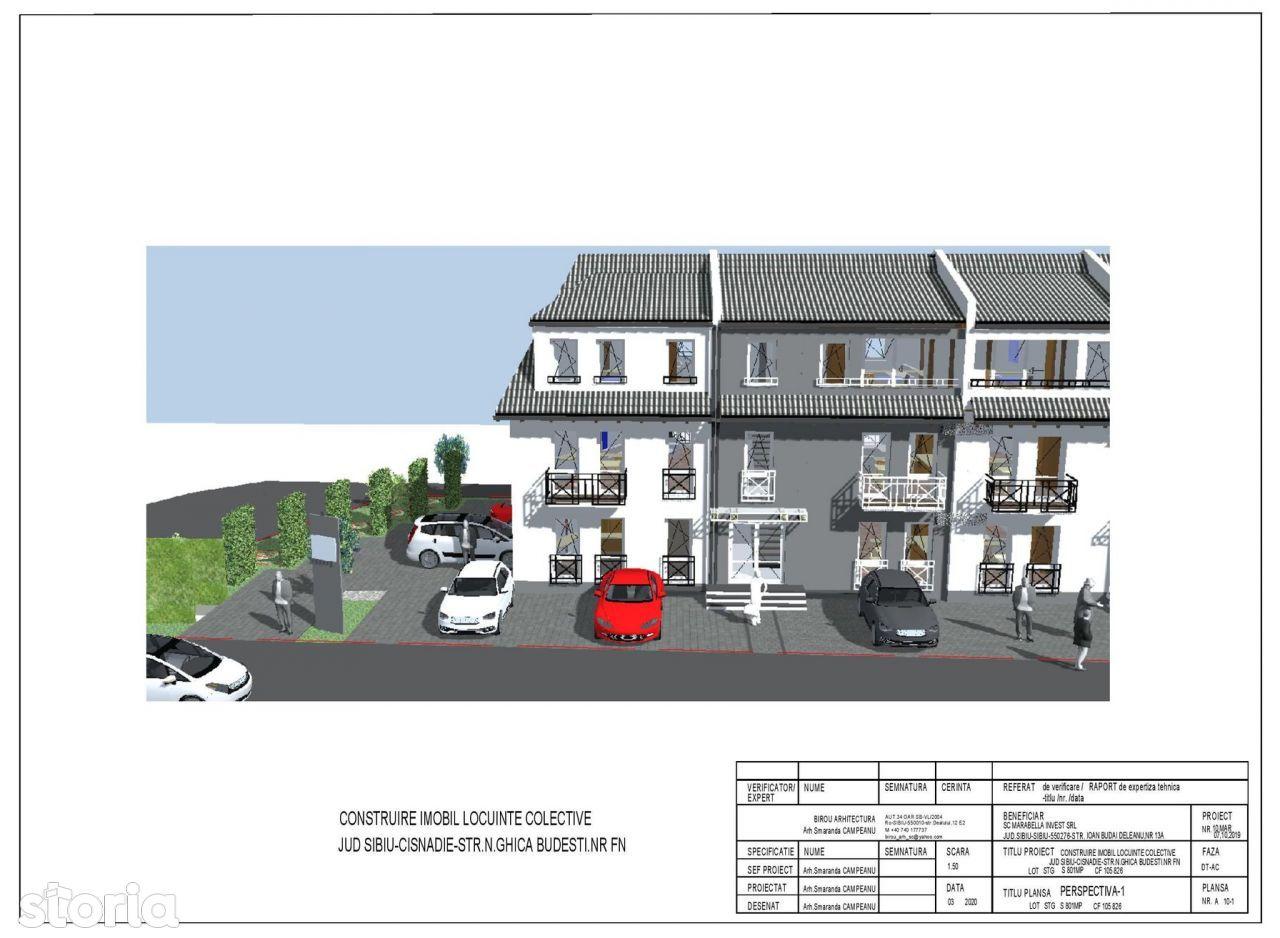 Ghica Budesti/etaj 1 | Apartament 2 Camere | Calea Cisnadiei