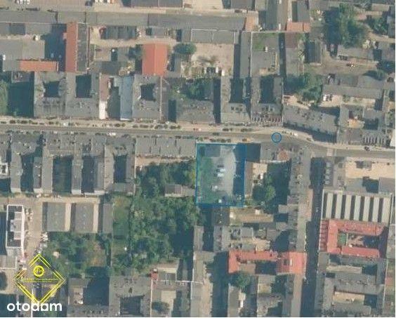 Centrum / działka inwestycyjna / pow. 1665 m2