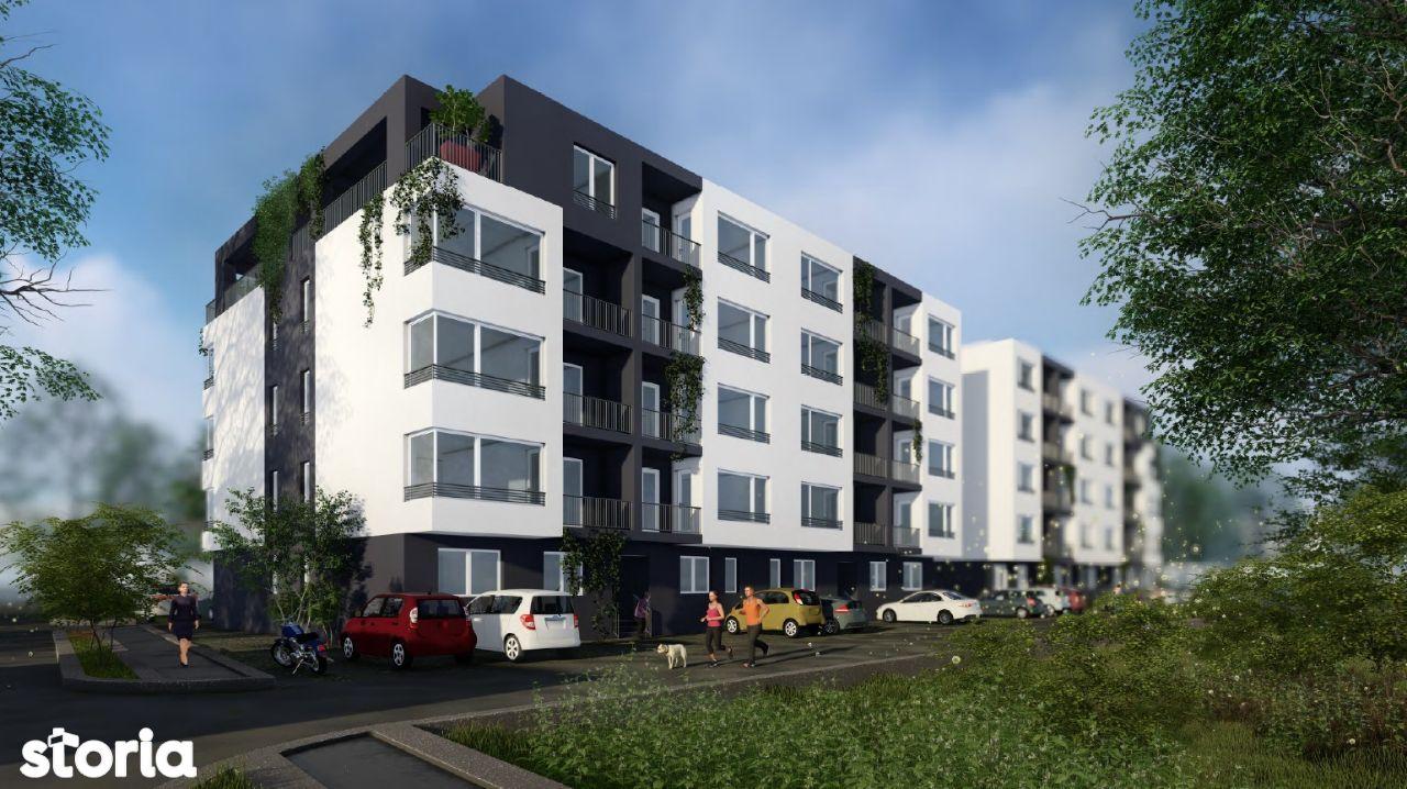 Apartament 4 camere decomandat, 2 Grupuri Sanitare, Titan, Ozana