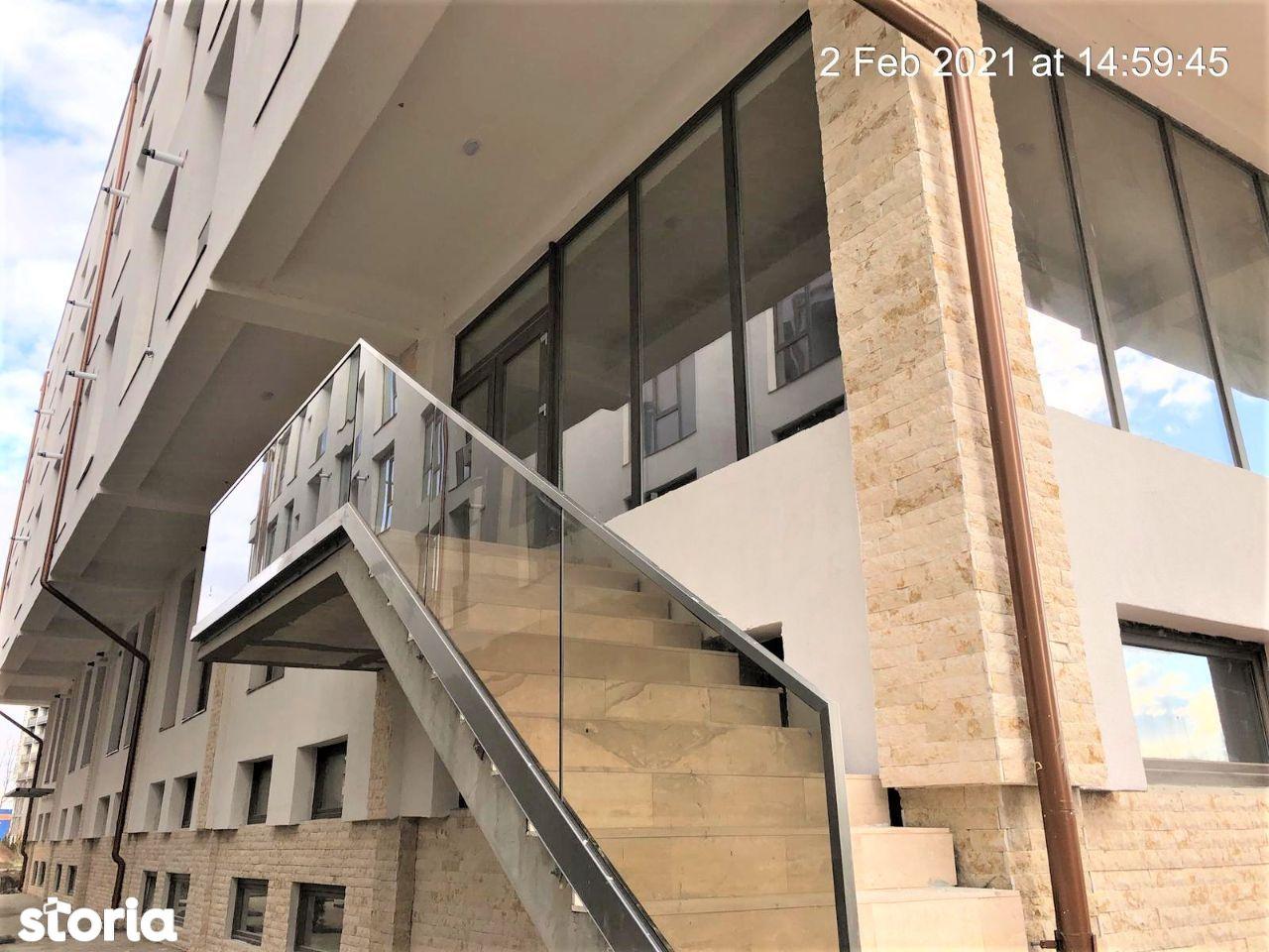 Parter inalt - Apartament 2 camere, zona Piata Rahovei,Ostirii