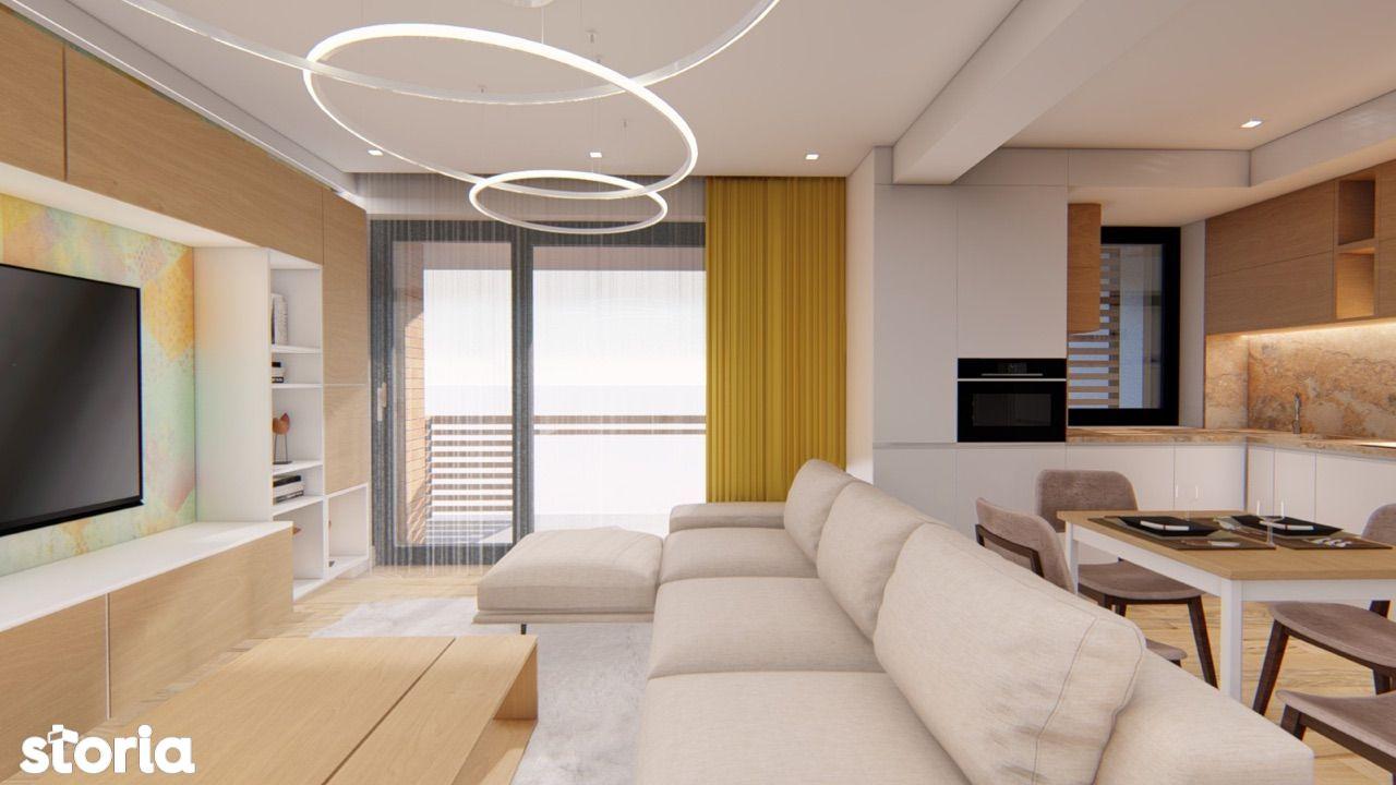 Apartament 3 camere, bloc nou, Bucium
