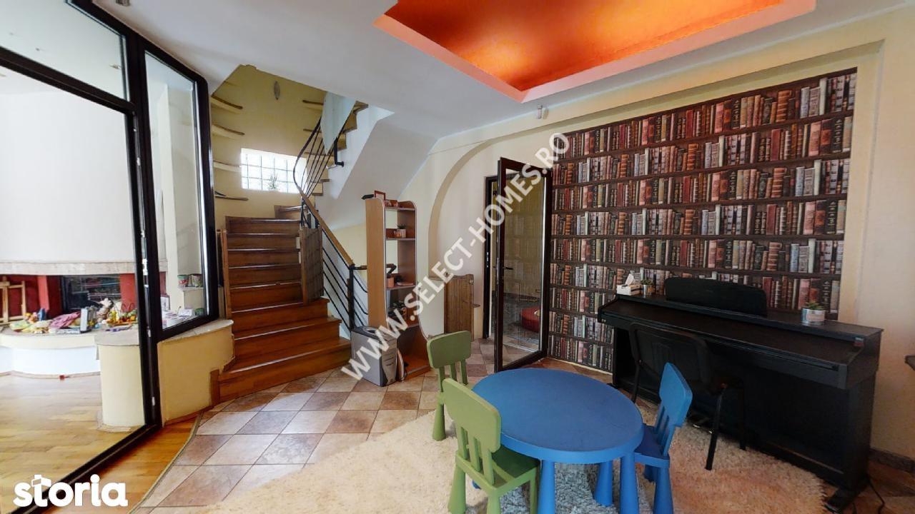 Vila de închiriat/vânzare 13 camere *Parcul Carol* Tur Virtual