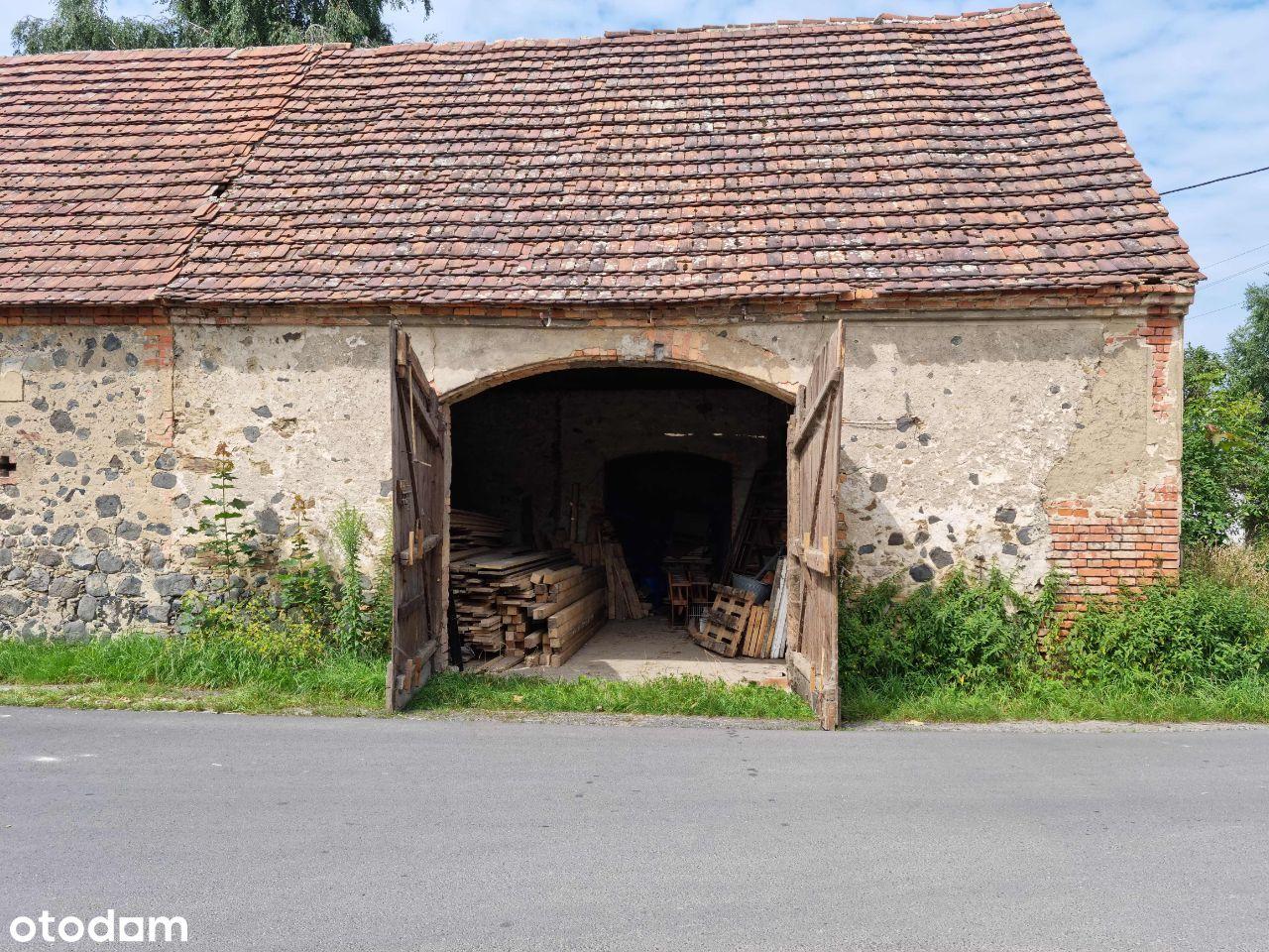 Magazyn - stodoła, okolice Zgorzelca