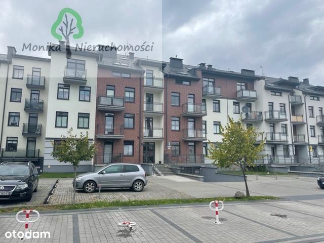 Dwupoziomowe mieszkanie z miejscem w postojowym