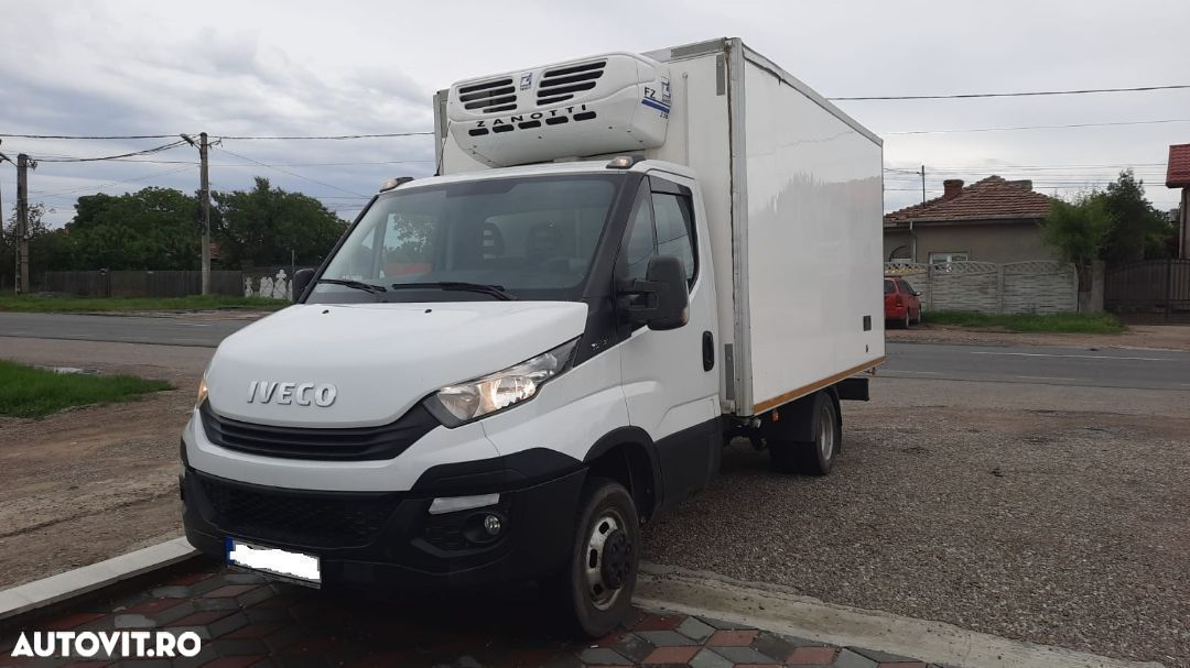 Iveco Daily 35-150, box frig , AC,  3.0 l, posibilitate leasing, carnet service - 1