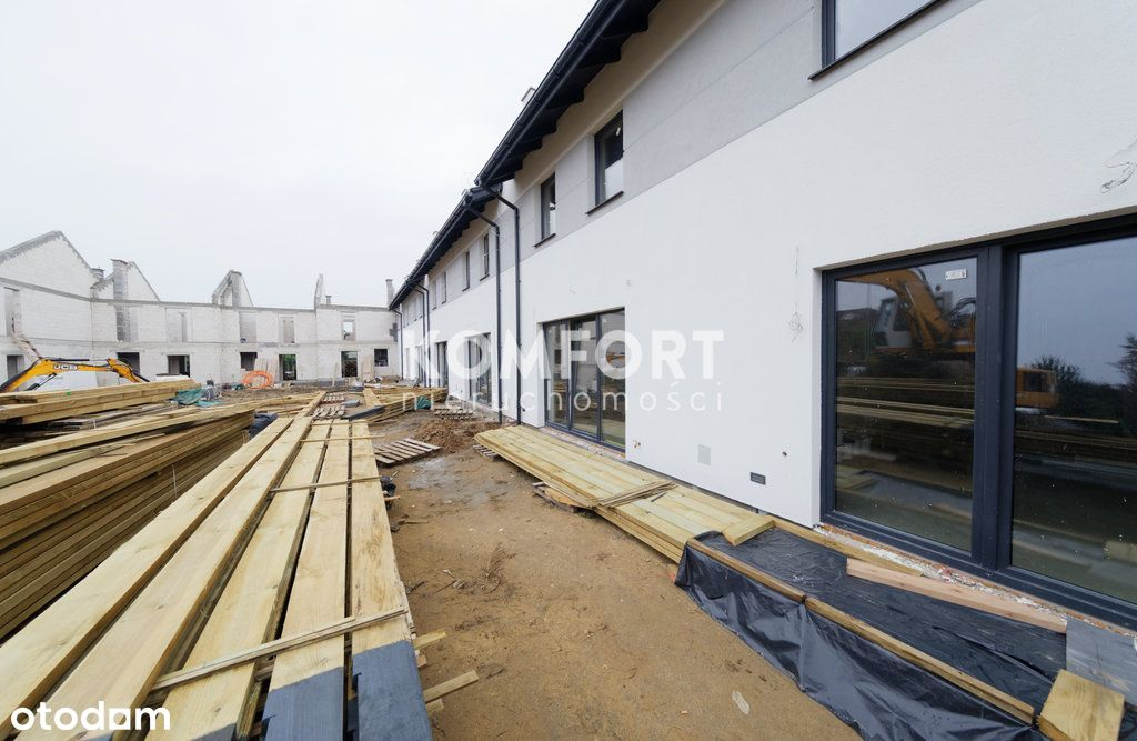 5 Pokoi Nowe Domy Szeregowe Bezrzecze Kirasjerów
