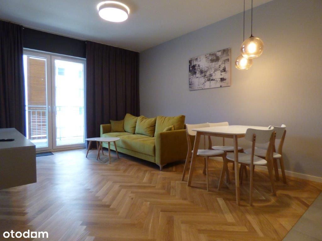 atrakcyjny nowy apartament Francuska Park garaż