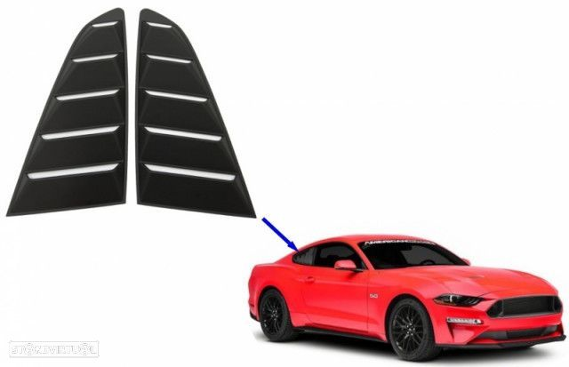 Grelhas Janela Lateral Ford Mustang (2015-2019) - 2