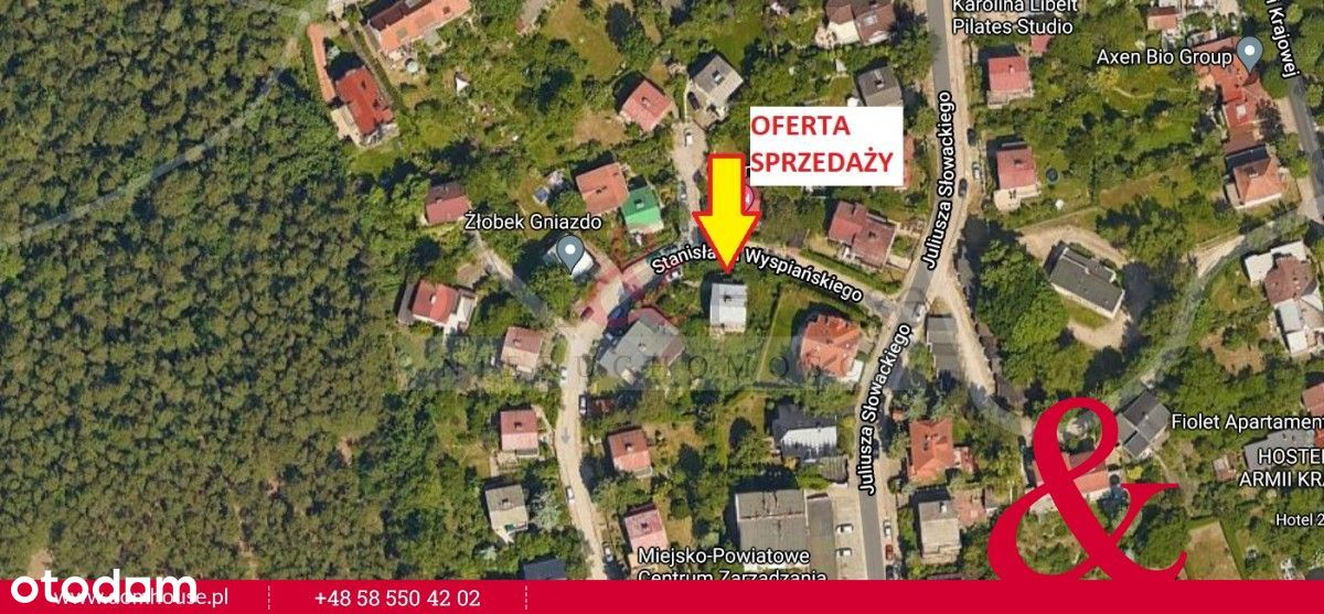 Dom do rozbiórki lub modernizacji w Sopocie Górnym