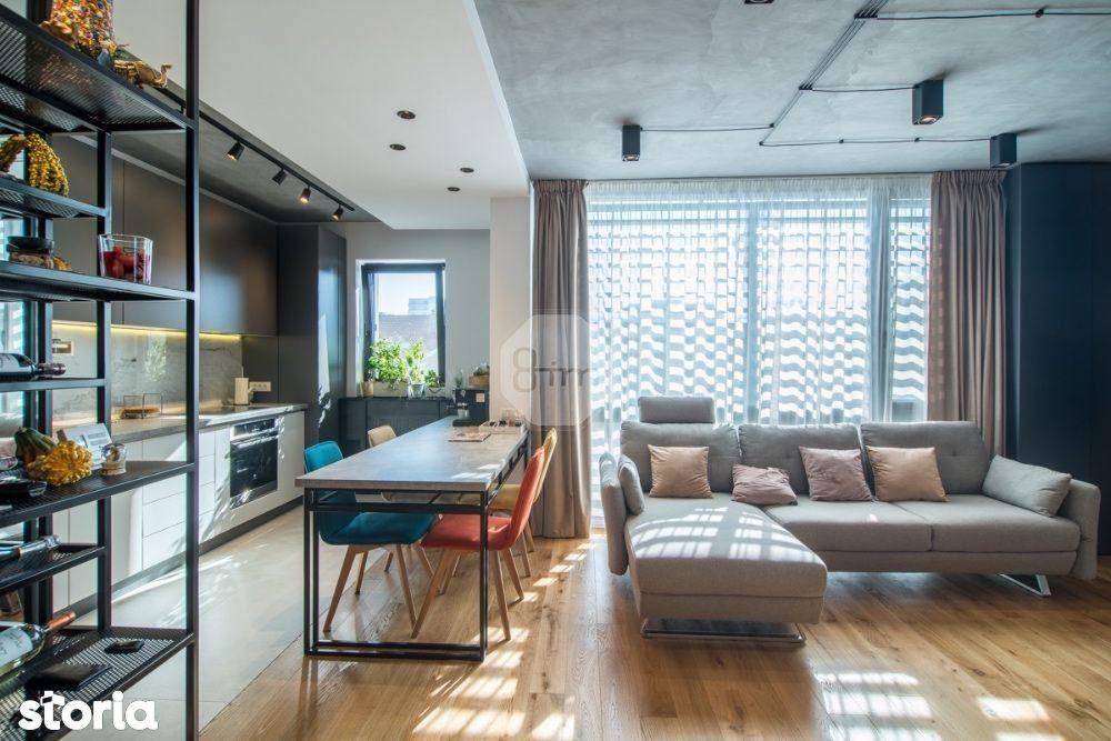 Vanzare apartament de lux 2 camere | 56 mp utili | 2 parcari | terasa