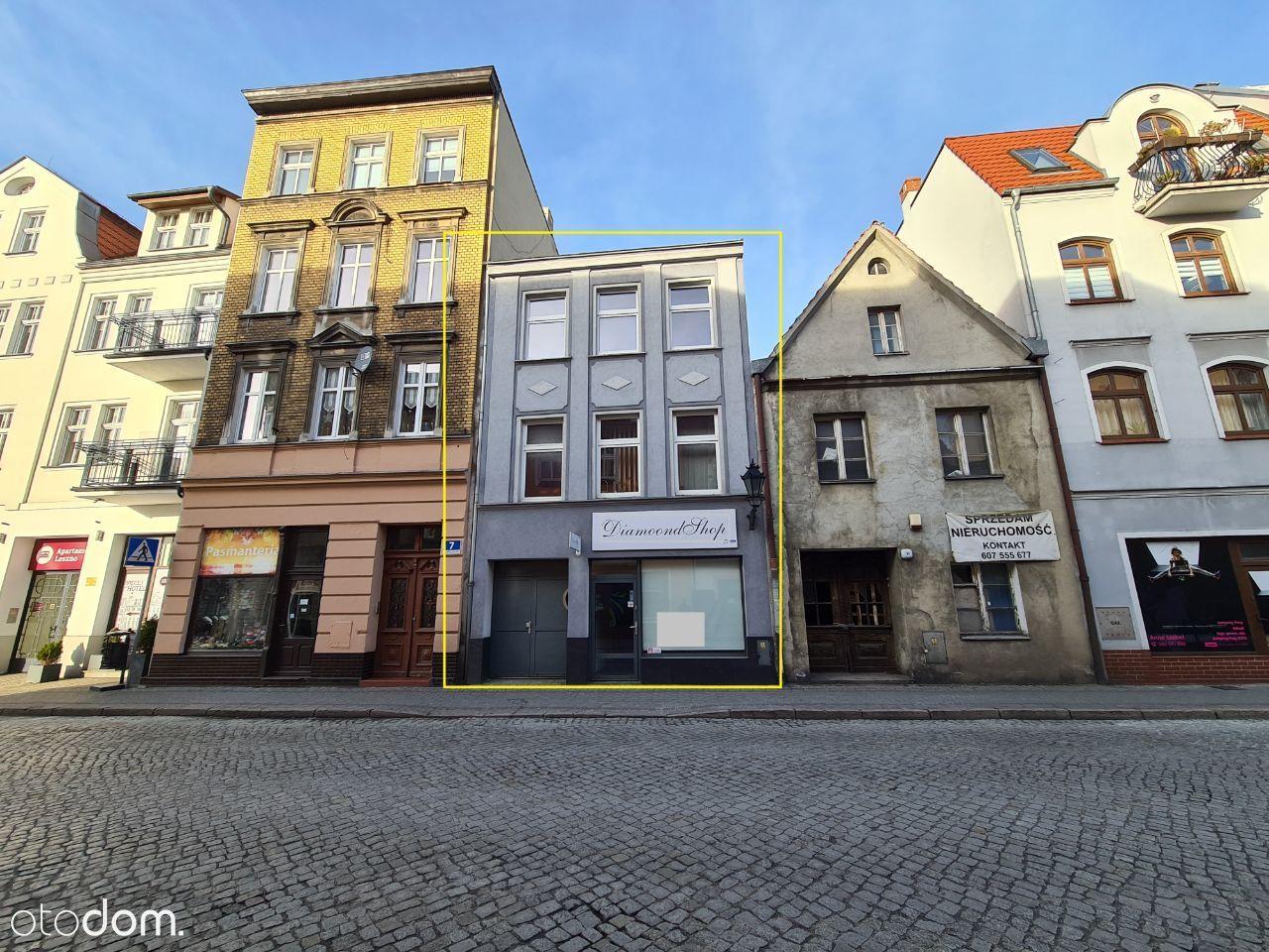 Sprzedam dochodową kamienicę w centrum Leszna