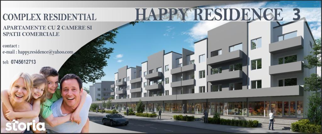 Happy Residence 3!Spații comerciale 105 mp. Preț 1530 euro fără TVA