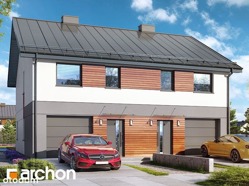 Dom w zabudowie bliźniaczej 104 m2 z garażem