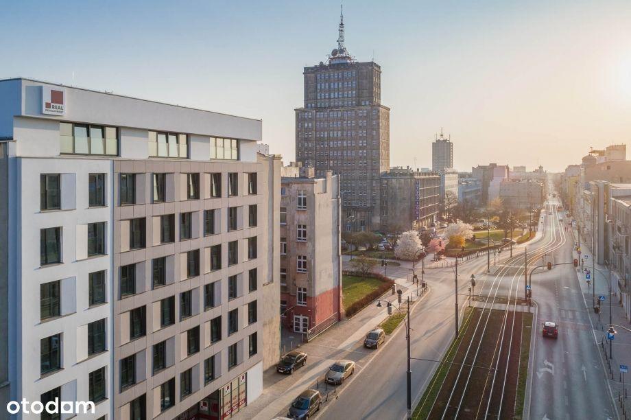 TOP kawalerka inwestycyjna w Nowym Centrum Łodzi!