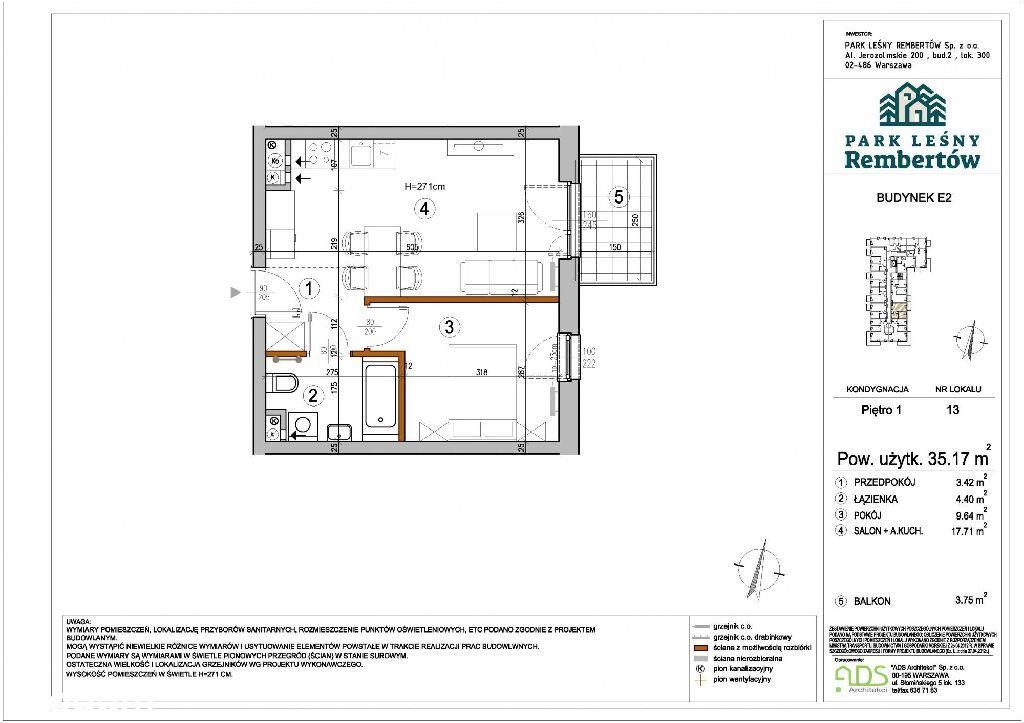 Mieszkanie 2 pokojowe na nowoczesnym osiedlu/Rembe
