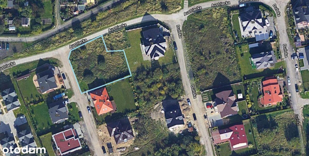 Os. UE, Austriacka, 866 m2, bezpośrednio
