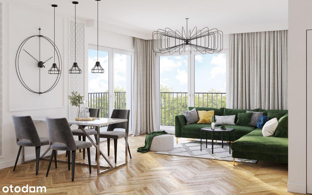 Apartament 3-pokojowy - podwyższony standard